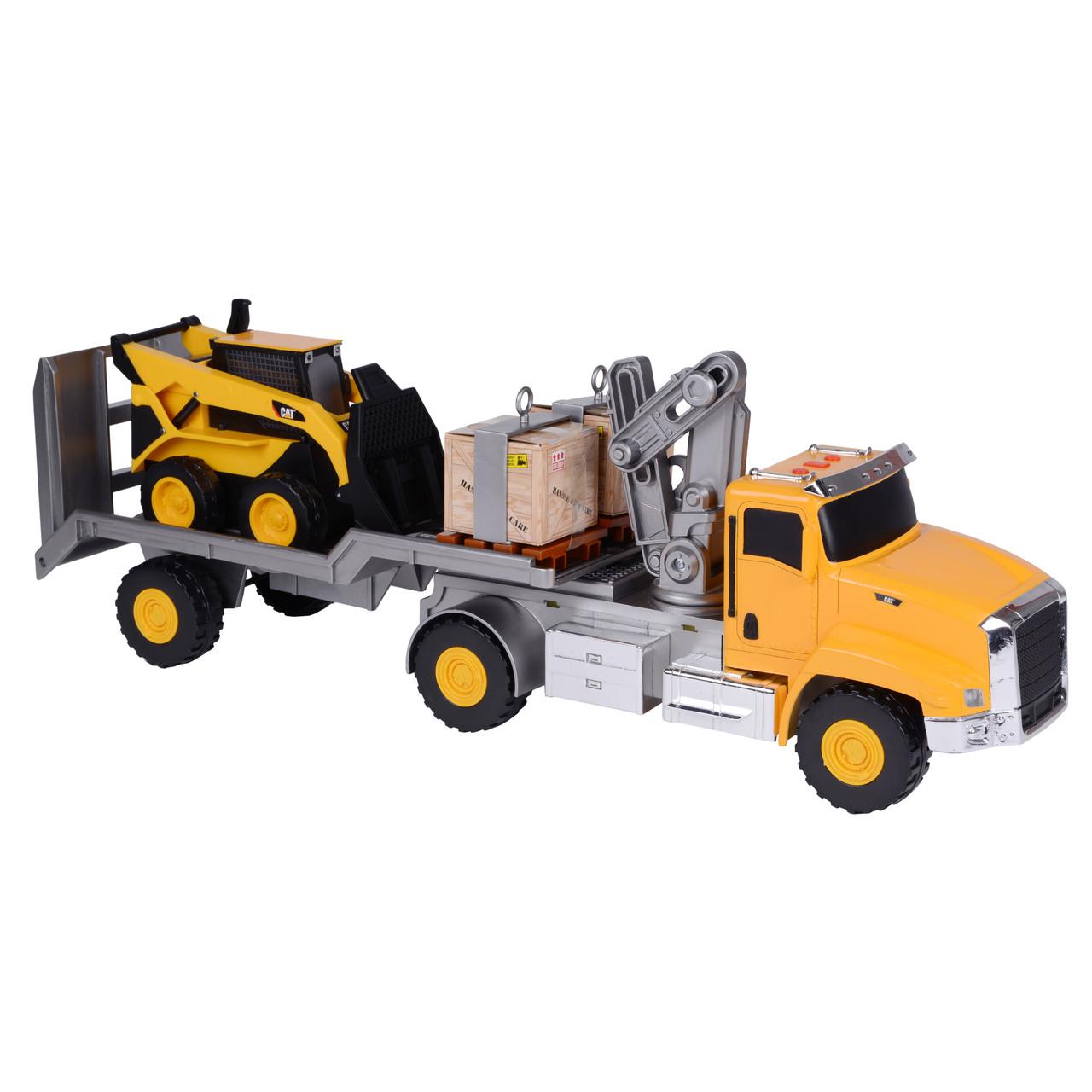 Автомобильный кран с мини погрузчиком 23 см, 58 см «Toy State» (34800)