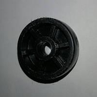 Ролик мебельный чёрный (Ф-36.5мм)