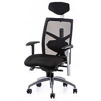 Офисное кресло  EXACT BLACK FABRIC, BLACK MESH