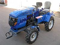 Мототрактор DW 160LX (БЕЗ ФРЕЗЫ, 16 л.с.,Регул. колеи)