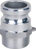 Камлок алюмінієвий ВРХ тип F (CAMLock)
