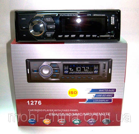 Автомагнитола Pioneer 1276 MP3/SD/USB/AUX/FM, фото 2