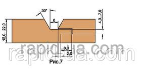 Фрезы  для изготовления обшивочной доски ( вагонки )         В=12…22         130х32х22х3