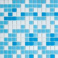 Голубая мозаика для бассейнов Vivacer GLmix100