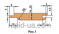 Комплект фрез  для изготовления обшивочной доски (вагонки)     130х40х23х3