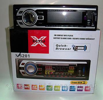 Автомагнитола Pioneer 5201 без cd с Bluetooth,  mp3 sd usb, фото 2
