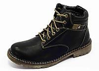 Мужские кожаные ботинки , фото 1