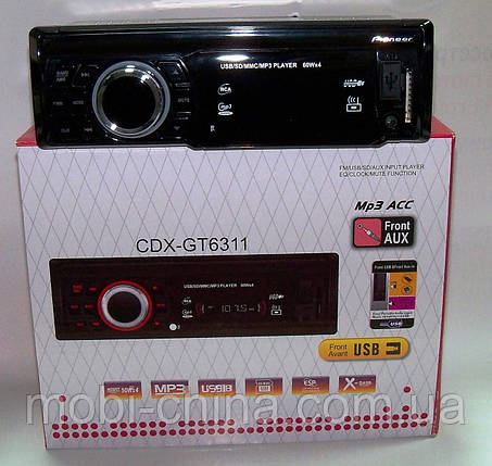 Автомагнитола Pioneer CDX-GT6311 mp3 /sd /usb, фото 2
