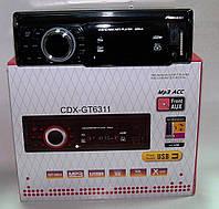 Автомагнитола CDX- GT6311 mp3 /sd /usb (в стиле Pioneer), фото 1