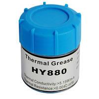 Термопаста HY880 Halnziye [5.15 Вт/м·К, 10г] банка