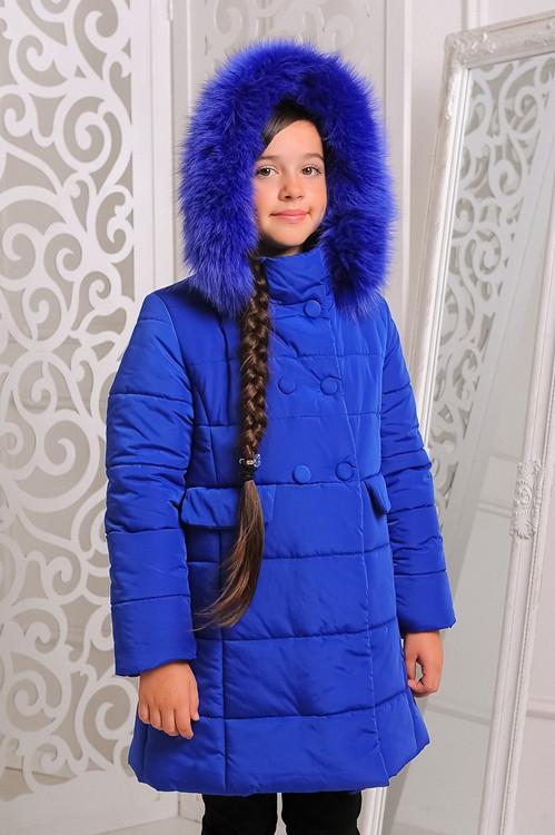 Детское зимнее пальто на девочку