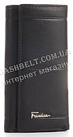 Стильная прочная надежная кожаная ключница Frandiar art. FD83-177A черная