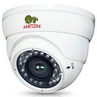 1.0 Mp AHD видеокамера наружного применения Partizan CDM-VF37H-IR HD v 3.3