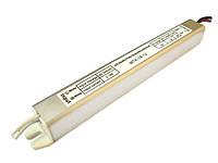 Блок питания для светодиодной ленты 18 Вт 12В MTK-18-12 тонкий