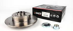 Тормозной диск Клио 2 /   Меган  / Renault Megane II с 2003 +подшипник +ABS (задний) Германия Dасo 603015