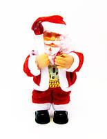 Дед Мороз/Санта-Клаус с подарком-15,0 см.