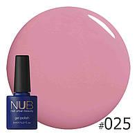 Гель-лак NUB Pink Plaid 025