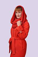 Женское пальто на утеплённой подкладе 46-54 размеров