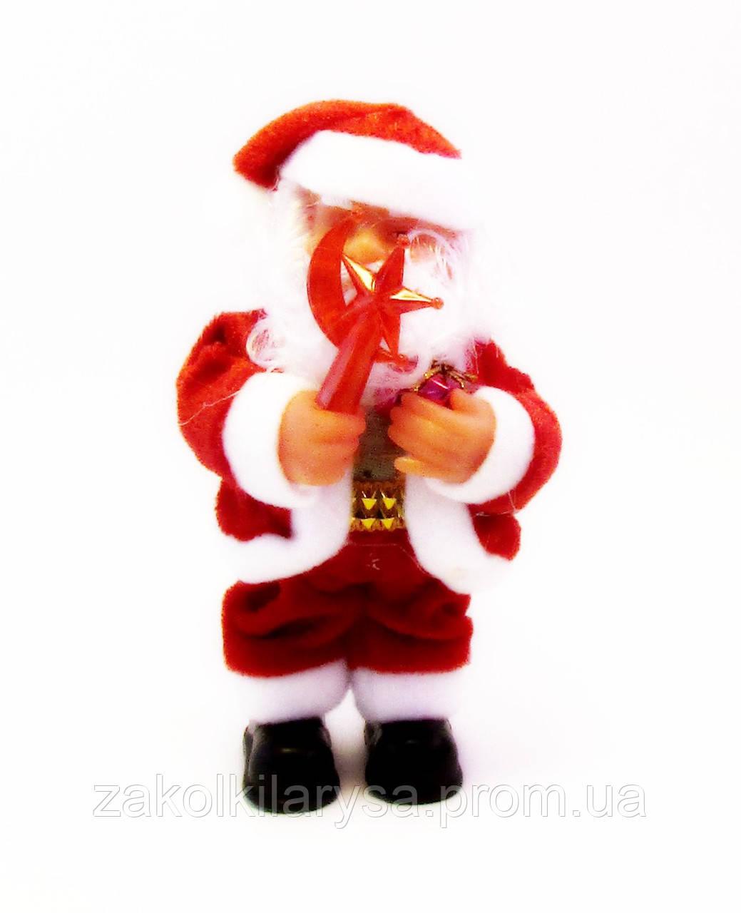 Дід Мороз/Санта-Клаус з подарунком-15,0 див.