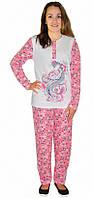 Пижама женская начес 46 р. цвт фото 2