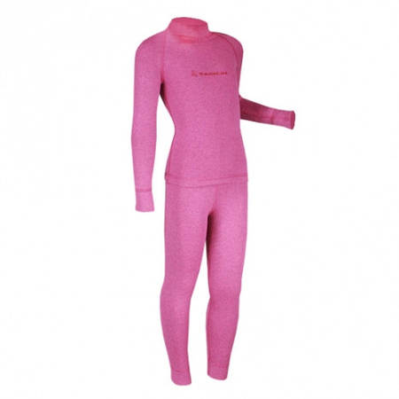 Теплое детское термобелье Radical Snowman (розовый).  (r1184) 140-146