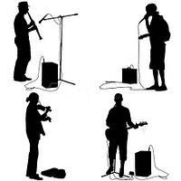 Прокат, аренда комплекта звука для выступления музыкантов