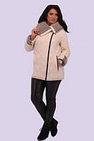 Осенне-зимняя куртка ,для женщин предпочитающих  конвертный , спортивный стиль 50-58 размер