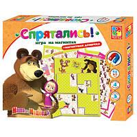 Игра настольная Спрятались Маша и Медведь укр