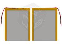 Батарея (АКБ, аккумулятор) для китайских планшетов, универсальный, 5100 mAh, 130х105х3,0 мм