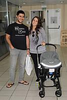 Знаменитости выбирают автокресло-коляску Simple Parenting Doona