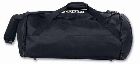 Сумка спортивная черная Joma Travel II 400002.100