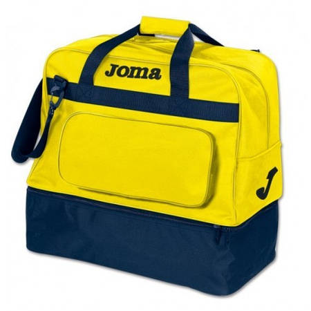 Сумка спортивная желто-темно-синяя Joma Mediana Novo 400087.309