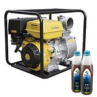 Насос бензиновый Sadko WP-100 PRO (145 м³/час, 100 мм)