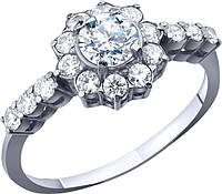 Кольцо серебряное , фото 1