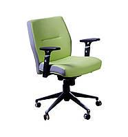 Кресло Элеганс низкая спинка, цветные боковины, механизм Synchro