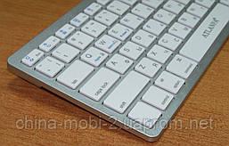 Универсальная беспроводная клавиатура для ПК Atlanfa AT-3950 в стиле Apple , Silver, фото 2