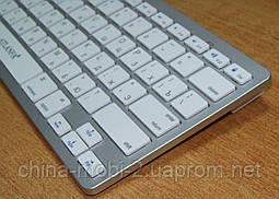 Универсальная беспроводная клавиатура для ПК Atlanfa AT-3950 в стиле Apple , Silver, фото 3