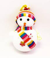 Ёлочная игрушка-Снеговик-16,0 см.-6 шт.