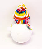Ёлочная игрушка-Снеговик-16,0 см.-6 шт., фото 3