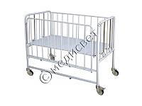 Кровать медицинская детская КФД-2 для детей до 5 лет