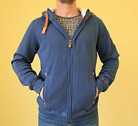 Мужская толстовка Super Dry 536 джинс код 235в
