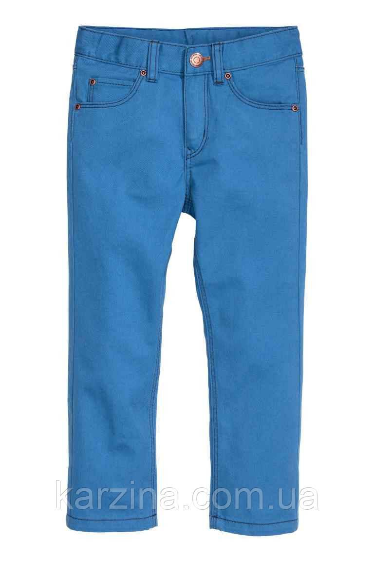 Штаны голубые H&M 2-3 года