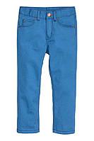 Штаны голубые H&M 2-3 года, фото 1