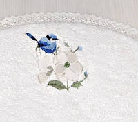 Коврик  60x100 Irya BIRD BEYAZ