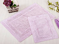 Набор ковриков из хлопка 60х90 и 40х60 Irya SUPERIOR Lila