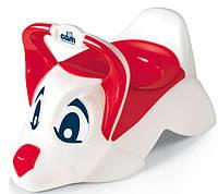 Горшок детский Собачка CAM DUDU красный