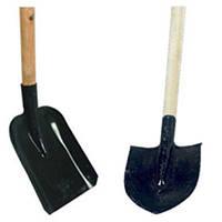 Лопата пожарная штыковая/совковая
