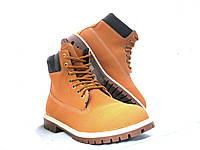 Ботинки мужские в стиле Timberland качественные