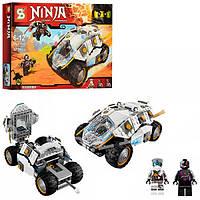 """Конструктор Ninja SУ 590 (аналог Lego 70588) """"Титановый вездеход"""" 360 дет"""
