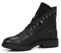 Осенние ботинки на шнурках  40,41